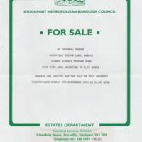 "SMBC : ""For Sale Notice"" for Woodville : 1993"
