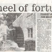 Newspaper Articles : Restoration of Mill : 1986
