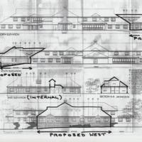 Drawings showing Proposed Extension to Arbour Court : 2003