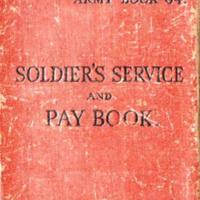 Soldier's Service & Pay Book, Badges & Photos : 1942
