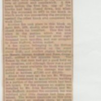 Newspaper Cuttings relating to Dove Bank Mill