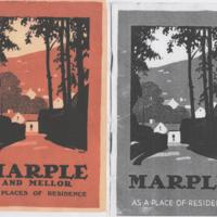 Booklets : Marple & Marple & Mellor as Places of Residence