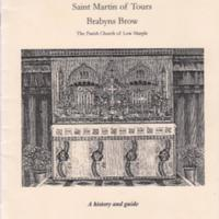 St Martins of Tours : History & Guide Booklet : 1966