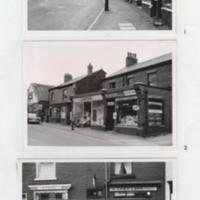 Marple Shopping Area Improvement Scheme : 1962