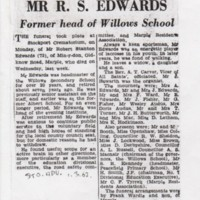 Newspaper articles  :  Edwards Family