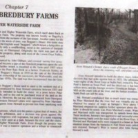 Extract : Bredbury Publication : 1991 : Lower Waterside Farm