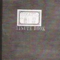 Minute Book : Meetings of House : 1898 - 1916