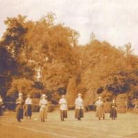 Photo showing Mr & Mrs Hodgkinson : Undated
