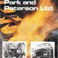 Park & Patterson 1972 Centenary Celebration Brochure