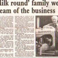 Newspaper cuttings relating to Farms in Marple Area
