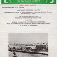 Sale details for Old Hall Farm, lands & woodland : 1976 : £40,000