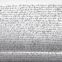 Legal documents relating to 18th century Hawk Green