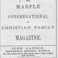 Marple Congregational & Christian Family Magazine : 1878