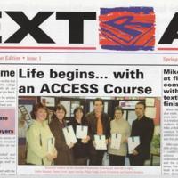 "Ridge Danyers ""Extra"" Newspaper : 1998 & 1999"