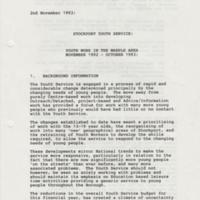 Youth Work report on Marple Area  : 1993