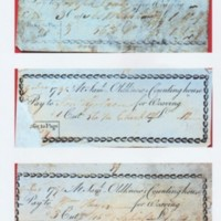 Samuel Oldknow Counting House Receipts : 1791