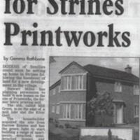 Housing Estate Development : Strines Printworks : 2008