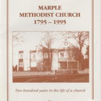 Booklet : Marple Methodist Church 1795 - 1995