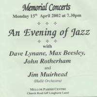 Concerts at Mellor Church : Various Dates