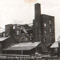 Windlehurst Mill, High Lane : Gale Damage : 1908