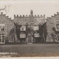 Wyberslegh Hall Postcard