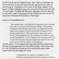 Talk : The Civil War in Lancashire : 2000