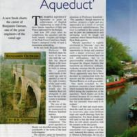 "Cheshire Life Article :  Mr ""Marple Aqueduct "" 2001"