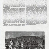 Extract from Ormorod :  History of the County Palatine and City Cheshire 1882