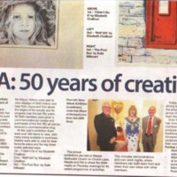 Newspaper Cuttings relating to Marple Arts Group