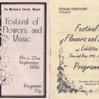 Programmes : Festival of Flowers and Music 1995 & 1986
