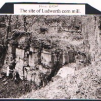 Photographs of Remains of Ludworth Corn Mill