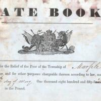 Marple Rate Book : 1854 (1)?