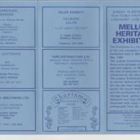 Mellor Heritage Exhibition : 1984 & 1985