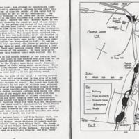Extract : Information & Hand drawn sketches of Marple Locks
