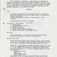 Deeds Relating to Rose Hill House