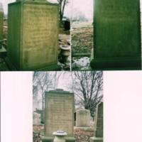Photographs of Budenberg Family Gravestone