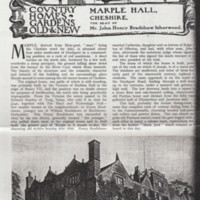 Country Life Article from 1919