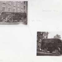 Primrose Mill  Dying Co Ltd. Works Vans : 1950's & Landscape Photographs