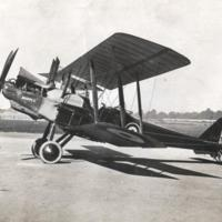 "Photograph :  WW1 : ""Marple"" Aeroplane"
