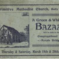 Bazaar Programme 1909