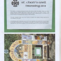 Material on  Chadkirk Well Dressing
