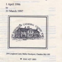 Annual Reports for The Manchester Cathedral County Home
