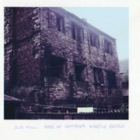 The Old Mill, Marple Bridge, photograph from old slide, hand drawn measurements