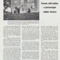 Primrose Mill : Polysar Progress Magazine  Article :  1980