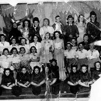 Photograph Hawk Green Ridge Methodist Panto Cast : 1952/53