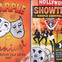 Marple Carnival  Programmes : 1997 - 2013