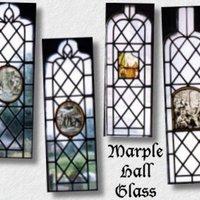Glass Widow Panels from Marple Hall : 1996