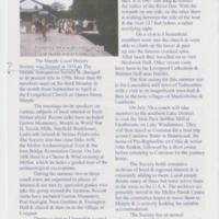 Article : Foundation of Marple History Society : 2007