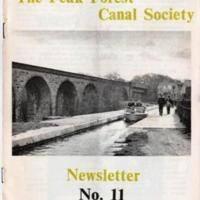 Peak Forest Canal Society Newsletters :  1966 - 1985