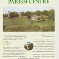 The New Parish Centre Poster